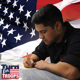 Turn for troops 600