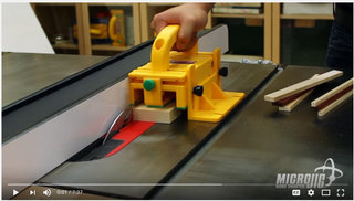Video microjig safety