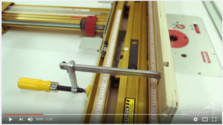 Video microjig clamps