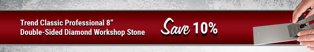 Save 10% on Trend diamond stone