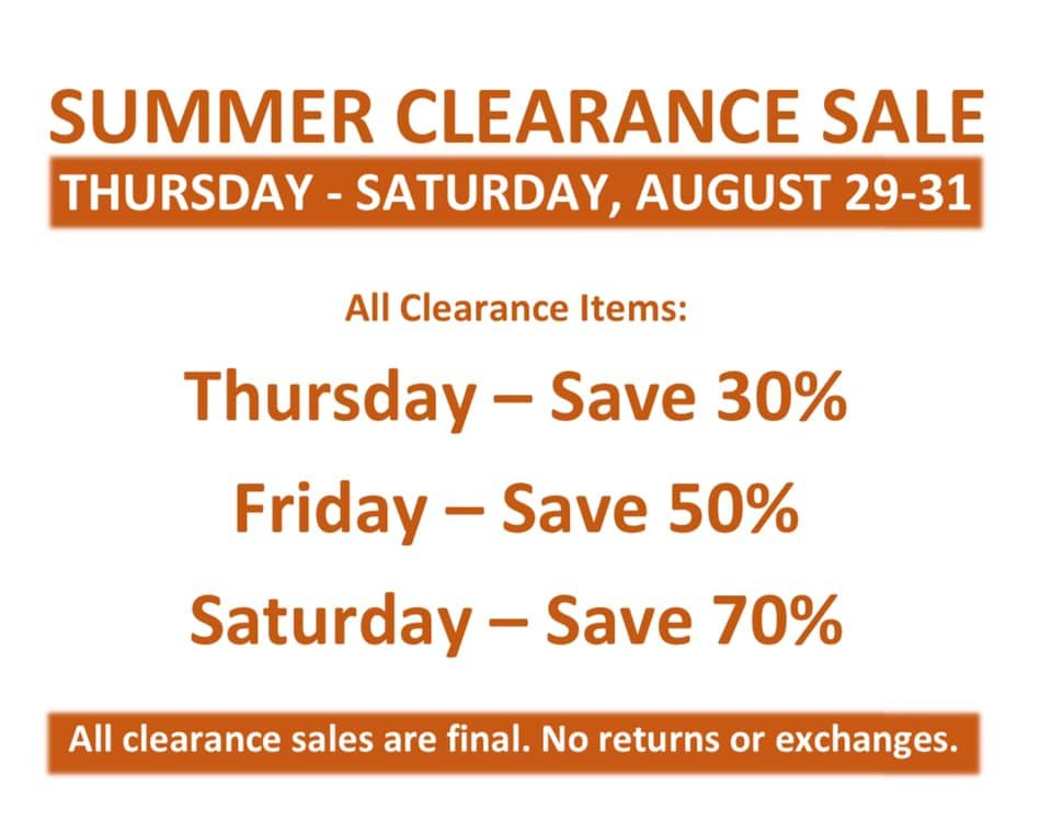 summer-clearance-event-chattanooga