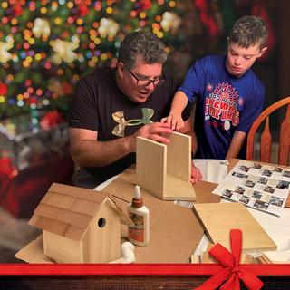 Birdhouse kit christmas blog size