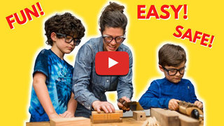 Anne of all trades video kids woodworking education learning projects600