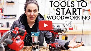 Tamar hannah what tools do i need start woodworking may2021