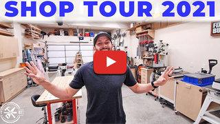 Brad rodriguez garage woodworking shop 8 years making 600