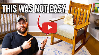 John malecki pt8 crazy difficult rocking chair build for my new baby 600