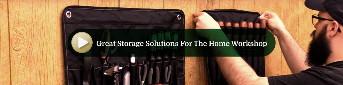 Great Storage Solutions for the Home Wood Shop Video