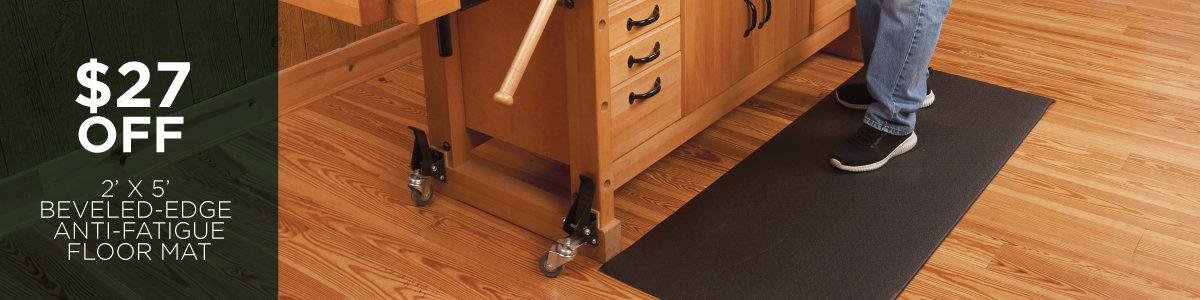 Save $27 Off Beveled-Edge Anti-Fatigue Floor Mat