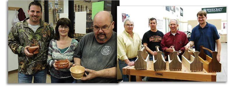 Learn woodworking fundamentals and DIY make and take projects at your local Woodcraft Woodworking and Hardware Store.