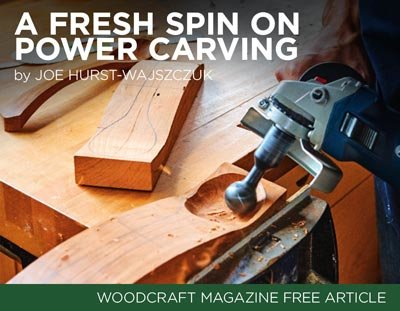 A Fresh Spin on Power Carving