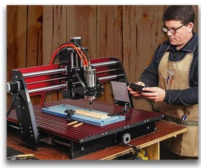 How to use a CNC woodworking machine.