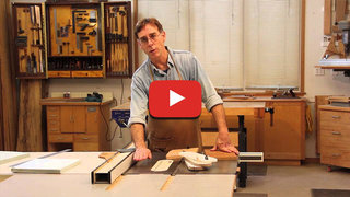 Video table saw safety preventing kickback paul anthony