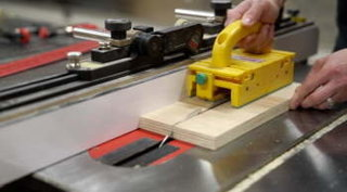 Table saw safety microjig grrriippe push accessory 350