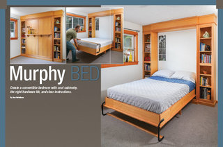 How to make murphy bed wood working project home renovation