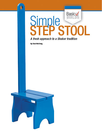 Shaker style furniture making, how to make a simple step stool.