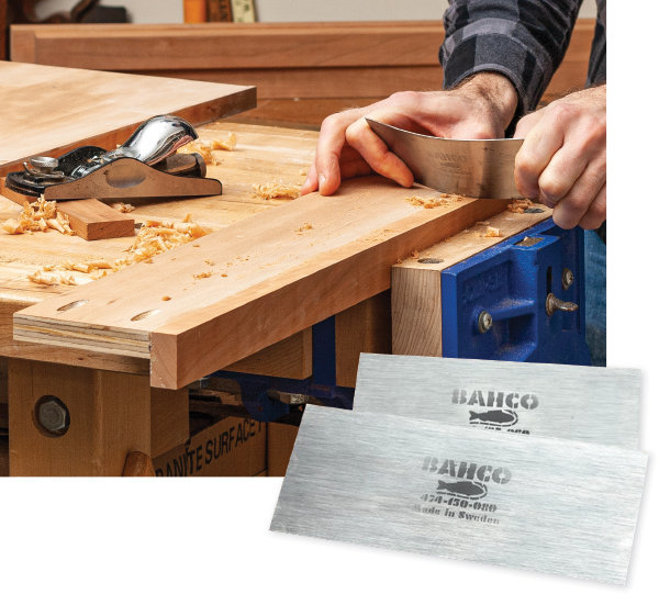 How to use a card scraper in to remove saw marks, glue clean up and taming grain.