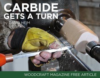 4 Veteran Wood Turners Test Carbide-Tipped Turning Tools