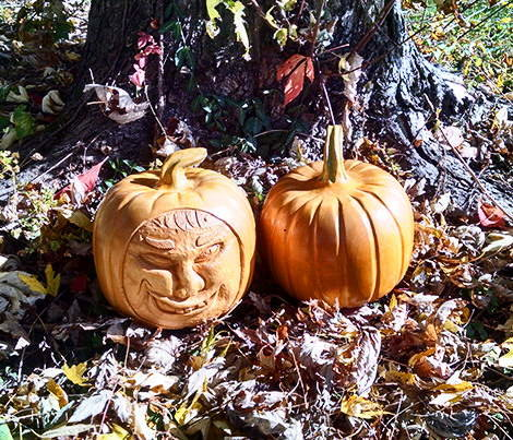 How to Carve Wooden Pumpkins for Halloween