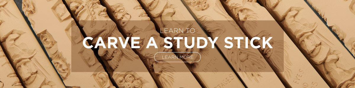 Learn To Carve a Study Stick