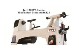 Jet1221vs lathe