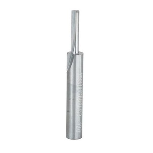 """View a Larger Image of 03-120 Single Flute Straight Router Bit 1/4"""" SH, 1/8"""" D, 5/8"""" CL"""