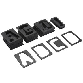 """1-1/2"""" Horizontal Character Set For MILESCRAFT TurnLock Sign Making Jigs"""