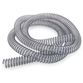 """1-1/2"""" x 15-feet Clear Dust Collection Hose"""