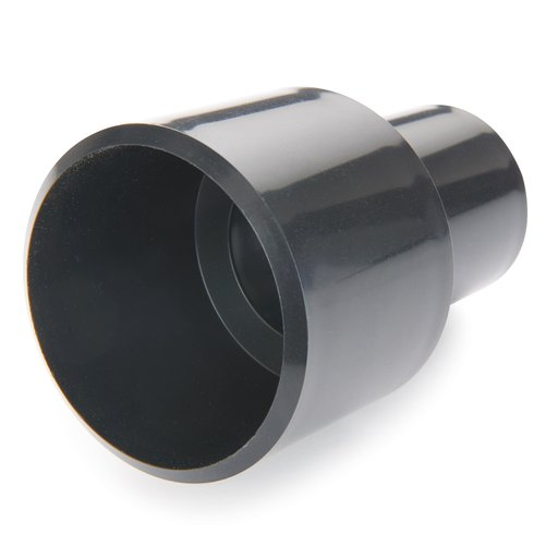 """View a Larger Image of 1-1/4"""" ID to 2-1/4"""" OD Adapter Dust Collection Fitting"""