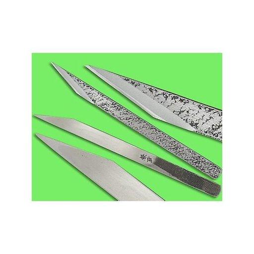 "View a Larger Image of 1/2"" Left Handed Blue Steel Woodworking Knife (Kogatana)"