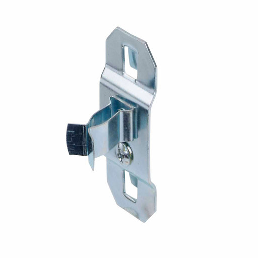 View a Larger Image of 1/4 In. to 1/2 In. Hold Range 7/8 In. Projection, Zinc Plated/Chromate Dipped Steel Extended Spring Clip for LocBoard, 5