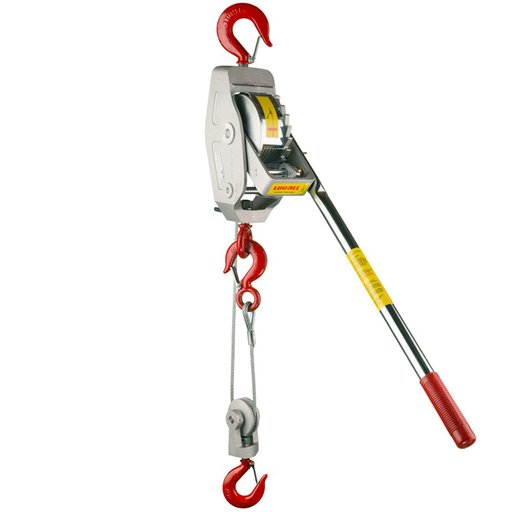 View a Larger Image of Lug-All Cable Ratchet Winch Hoist, 1.5 Ton