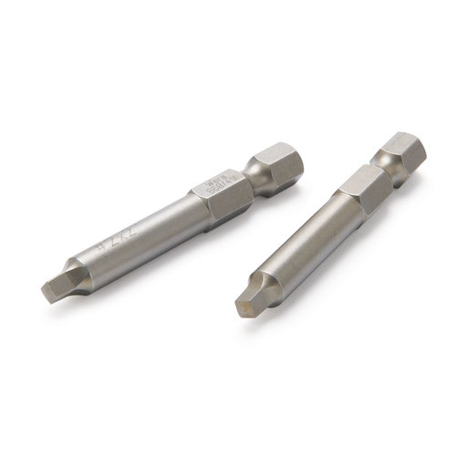"""View a Larger Image of #1 Square 2"""" Driver Bits - 2pc"""