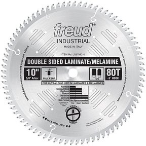 """10"""" Double Sided Laminate/Melamine Blade"""