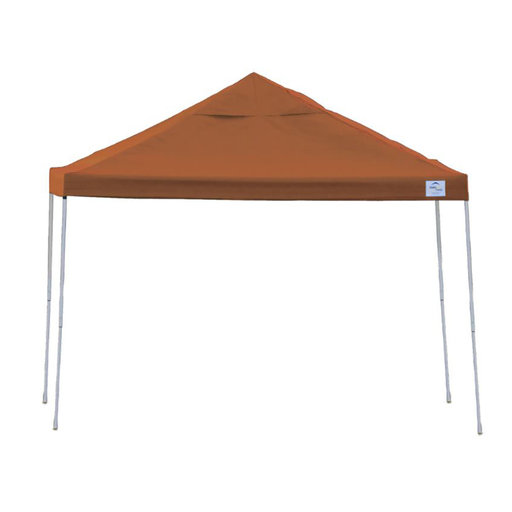 View a Larger Image of 10 ft. x 10 ft. Pro Pop-up Canopy Straight Leg, Terracotta Cover