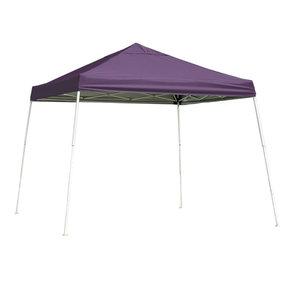 10 ft. x 10ft. Sport Pop-up Canopy Slant Leg, Purple Cover