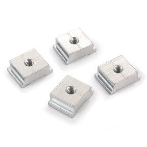 """Threaded Miter Track Nut - 1/4"""" x 20  - 10 Piece"""