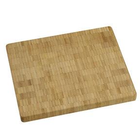 10 X 12 inch X 1 inch thick Bamboo End-Grain Chopping Block