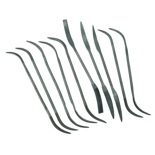 View a Larger Image of 10pc Smooth Cut Riffler File Set