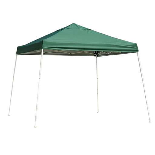 View a Larger Image of 12 ft. x 12 ft. Sport Pop-up Canopy Slant Leg, Green Cover