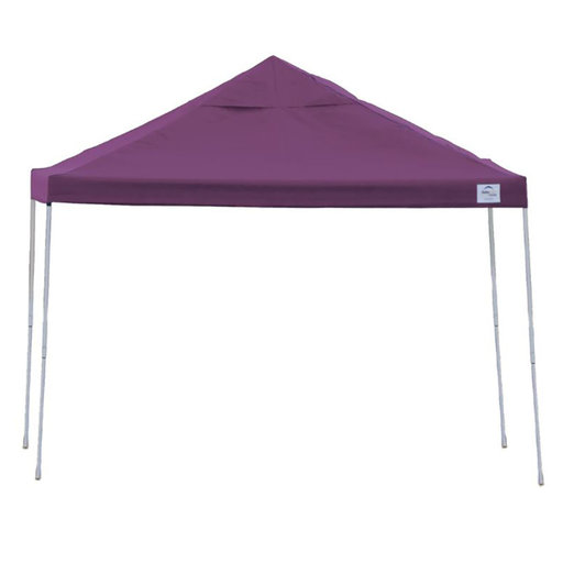 View a Larger Image of 12 ft. x 12ft. Pro Pop-up Canopy Straight Leg, Purple Cover