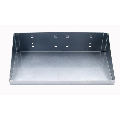 """View a Larger Image of 12"""" W x 6"""" D Silver Steel Shelf for LocBoard"""