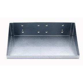 """12"""" W x 6"""" D Silver Steel Shelf for LocBoard"""