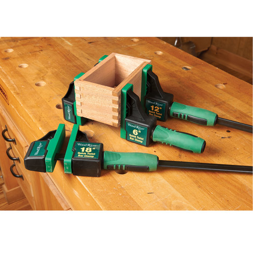 """View a Larger Image of Quick Twist Bar Clamp - 12"""""""