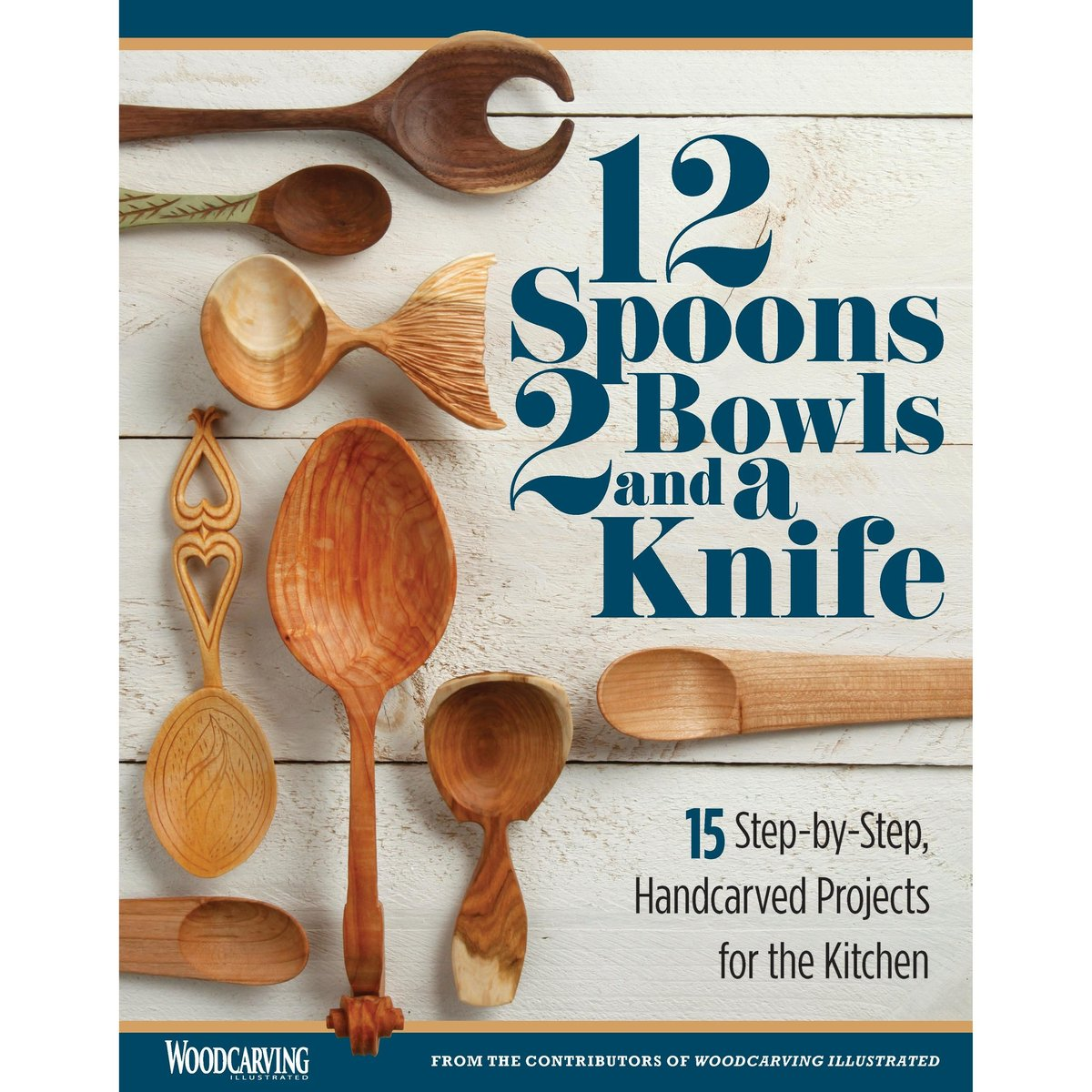 View a Larger Image of 12 Spoons 2 Bowls and a Knife