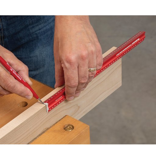 """View a Larger Image of 12"""" Woodworkers Edge Rule"""