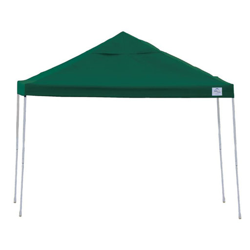 View a Larger Image of 12ft. x 12 ft. Pro Pop-up Canopy Straight Leg, Green Cover