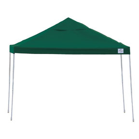 12ft. x 12 ft. Pro Pop-up Canopy Straight Leg, Green Cover