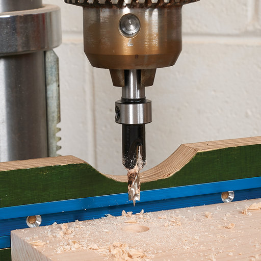 """View a Larger Image of 13/64"""" x 1/2"""" Carbide-Tipped Countersink With Brad Point Drill Bit"""