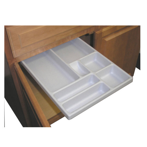 View a Larger Image of 13 X 21 inch EZ Slide N Store Large Slide-Out Tray for Base Cabinets
