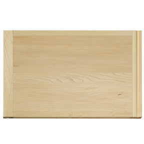 14 X 22 inch X 3/4 inch thick Hardwood Cutting Board with Routed Pull-Out